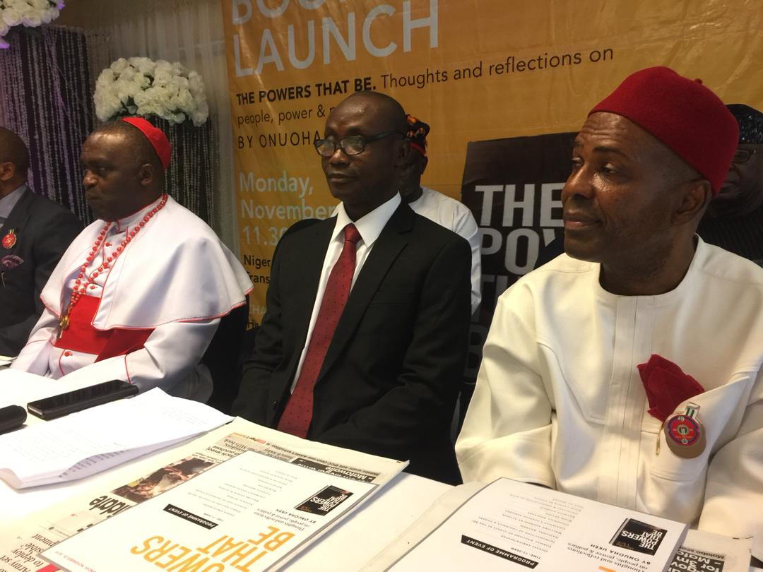 Onu assures FG committed to ideas that will build the nation