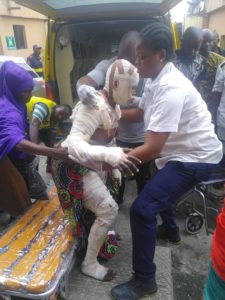 2 died, 23 others saved from gas explosion at Agegunle