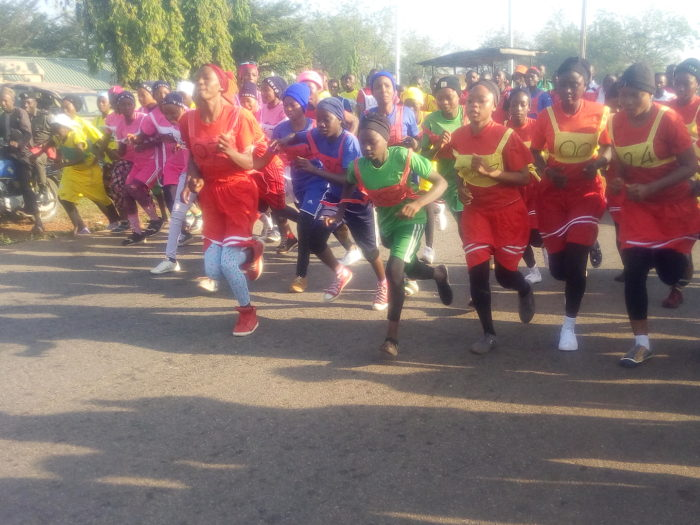 Nigerian Army brigade organise race for students in Toto