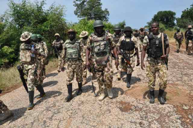 Soldiers kill 3 gun runners, recover RPG bombs, weapons in Sokoto – The Sun  Nigeria