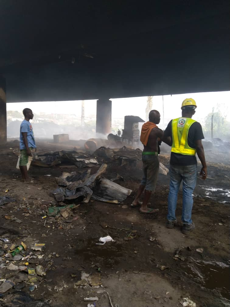Electrical Fire: Bridge was puts off by LASEMA