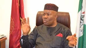 Senate: Akpabio pulls out of Akwa Ibom N'West re-run