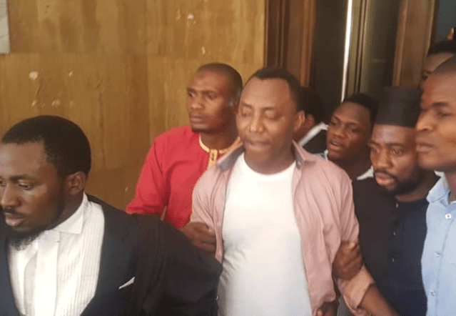 Group condemns DSS for re-arresting Sowore inside Abuja courtroom