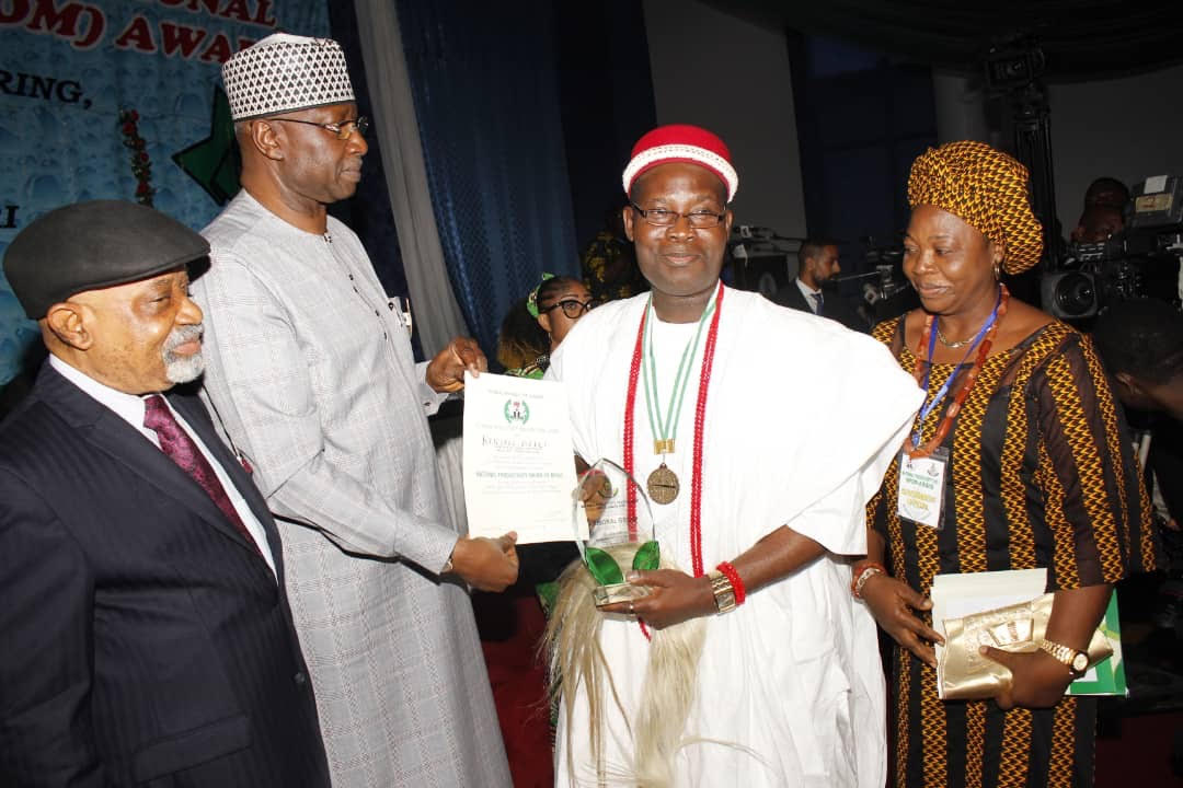 National Merit Award 'll spur us to do more for society – Igwe Chidume