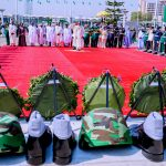 Buhari leads wreath-laying ceremony on Armed Forces Remembrance Day