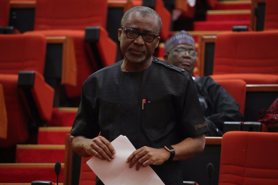 Insecurity: Abaribe calls for Buhari's resignation