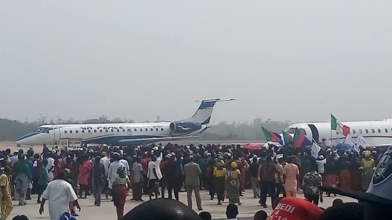 Image result for Cargo Airport: Air Force Mobility Command partners Bayelsa govt