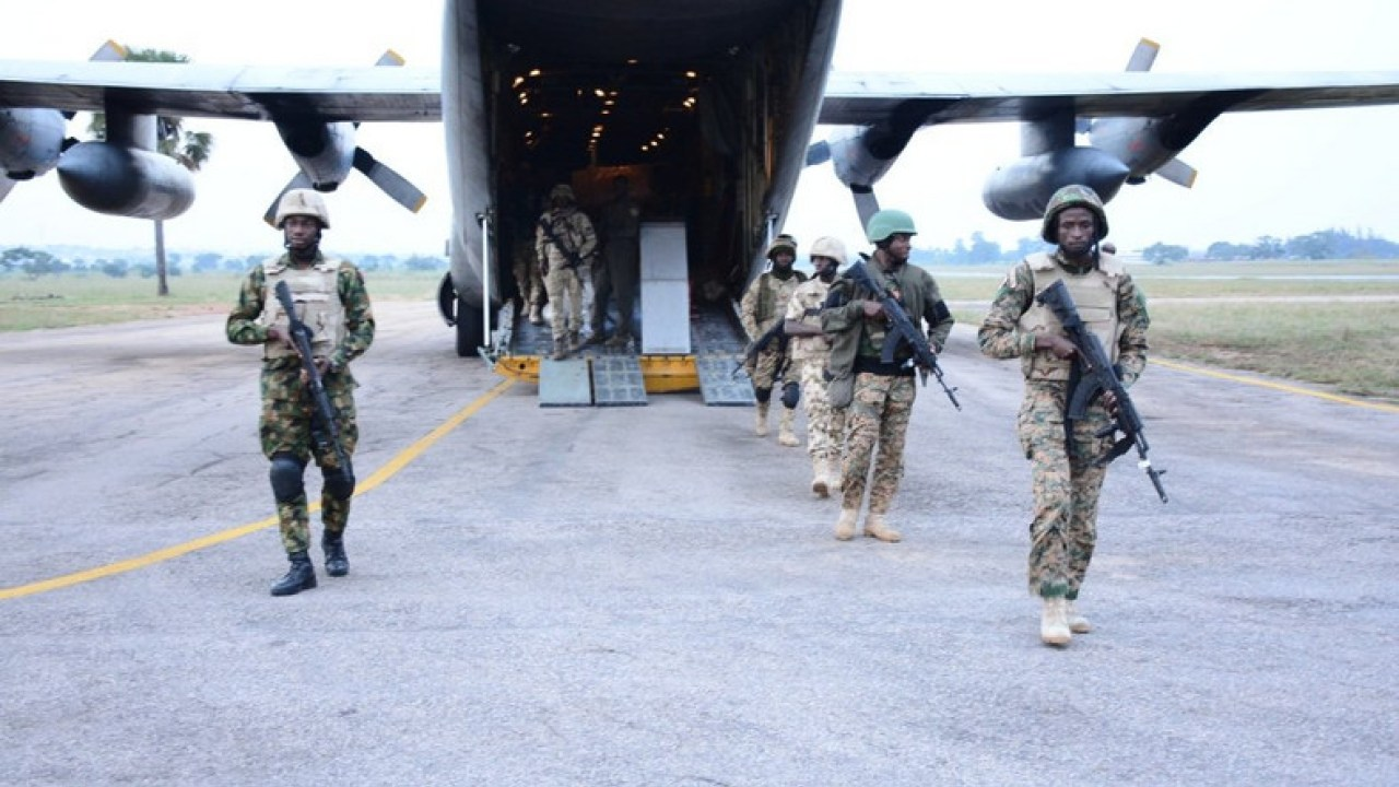 House charges NAF to redouble effort in anti-terror war