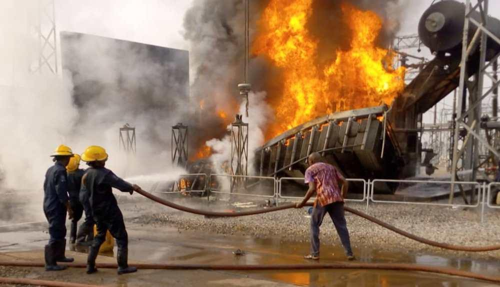 7 dramatic images from scene of Ibadan power station fire - Daily Sun