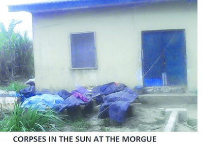 Shocking! Abandoned corpses litter Delta hospital