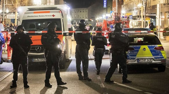 Germany shooting: 'Far-right extremist' carried out shisha bars attacks, says Prosecutor