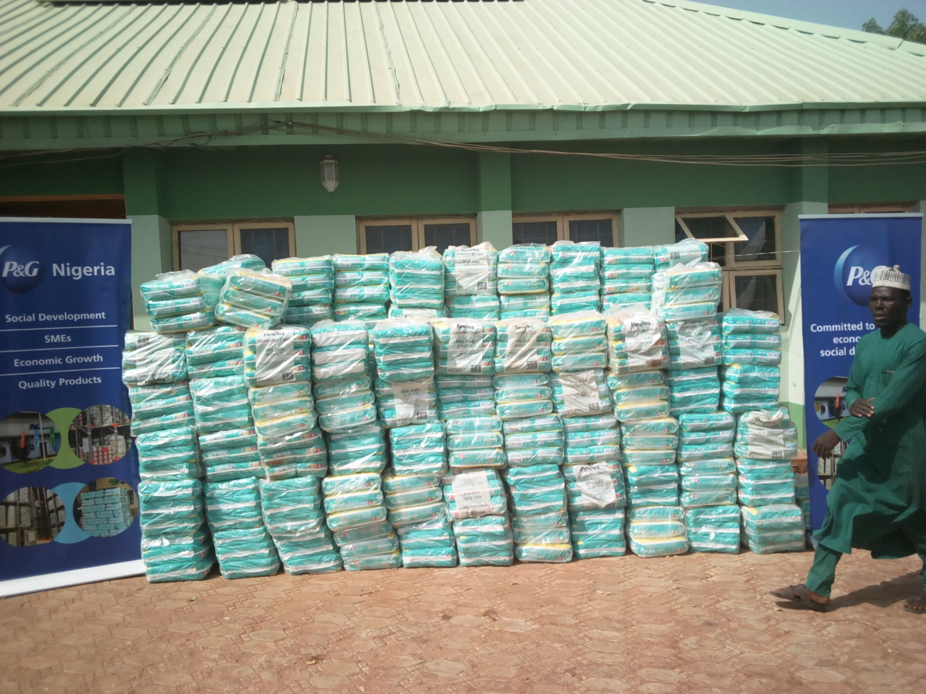 Over one million women across Kebbi LGAs get Pampers