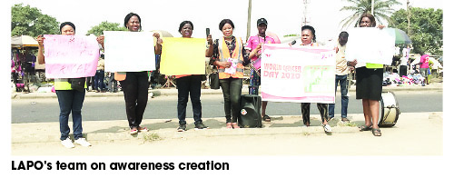 NGO campaigns against cancer in Lagos communities