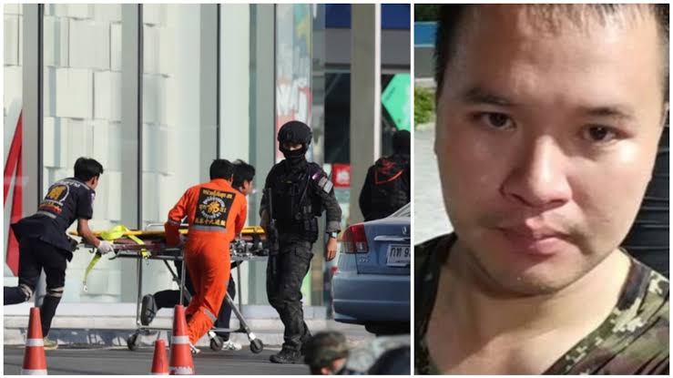 Thai soldier who went on deadly rampage shot dead by security forces