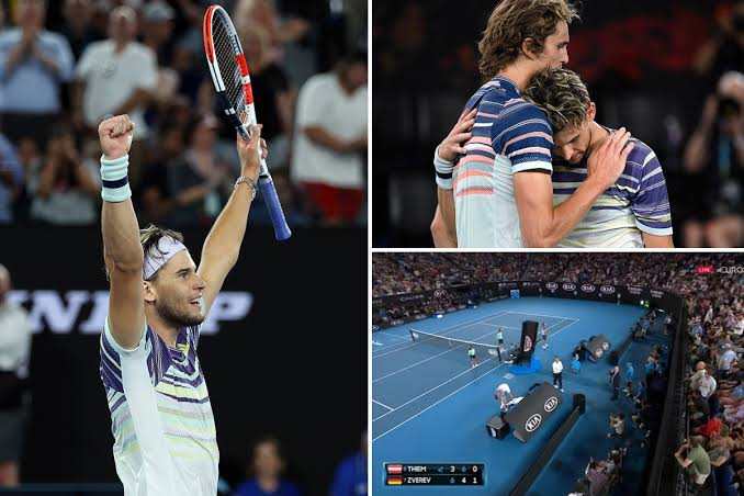Rafael Nadal knocked out of Australian Open by Dominic Thiem