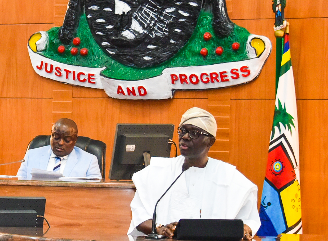Lagos Assembly sacks 2 principal officers, suspends 2 members - Daily Sun