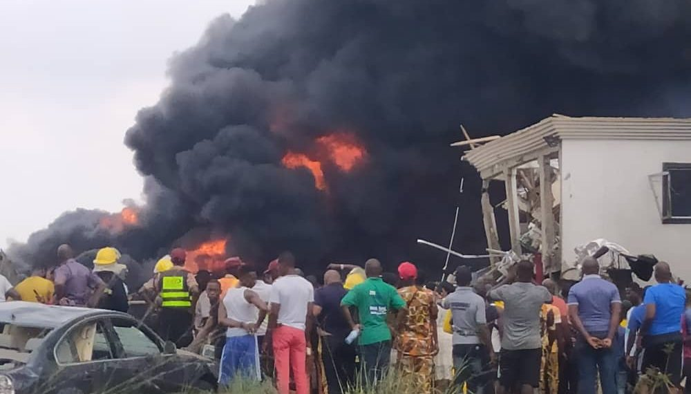 Image result for Reps to investigate cause of Lagos Gas Explosion