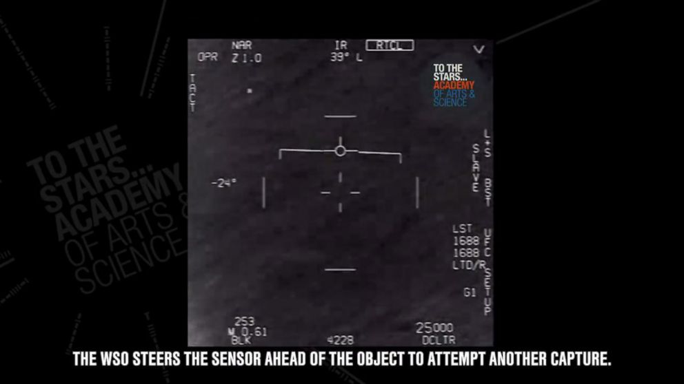 Pentagon Releases Videos Of Possible UFOs