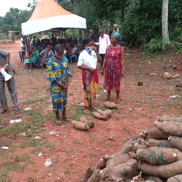1,000 poor Nsukka households get food aid from CNPP scribe
