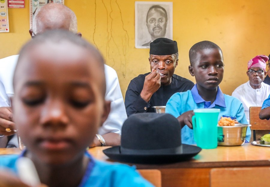 APC gov wants improved implementation of school feeding programmes