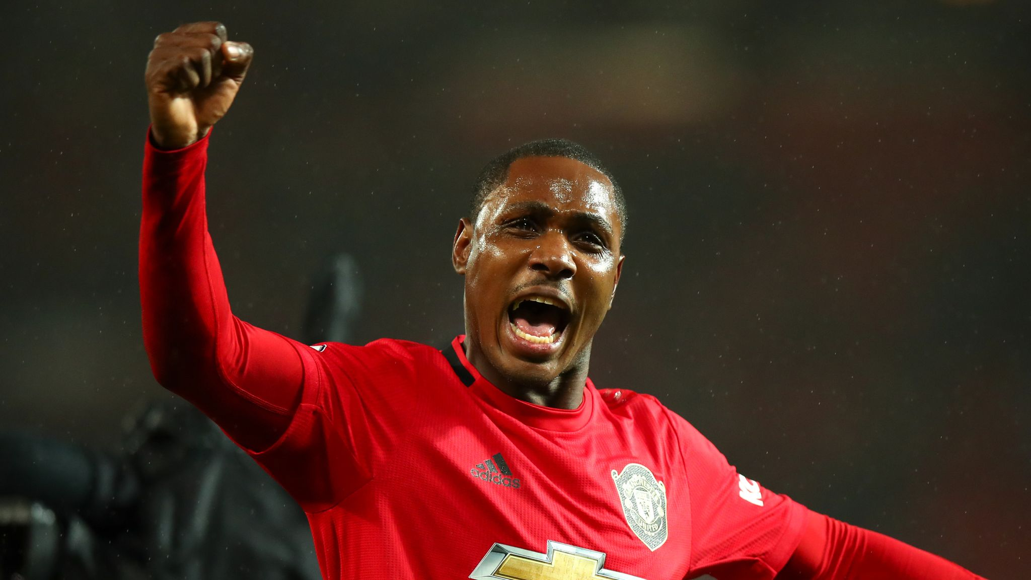 Manchester United takes stance on in-loan striker Odion Ighalo