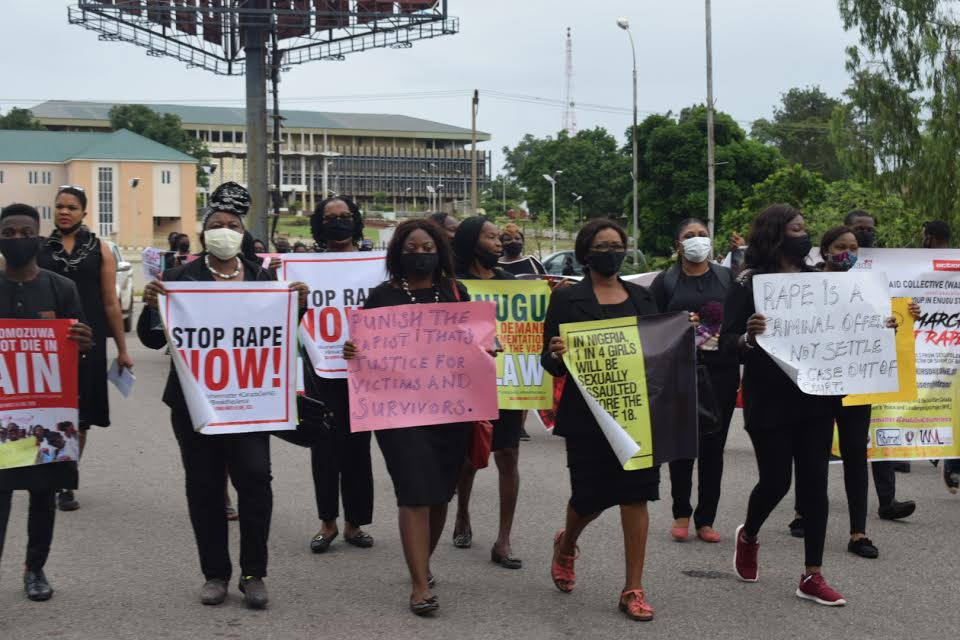 March against rape in Enugu part of nationwide protests