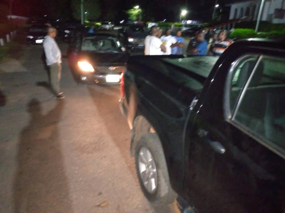 Drama as police bar Ondo deputy governor from exiting govt house