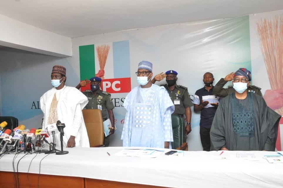 APC inaugurates caretaker/extraordinary convention committee