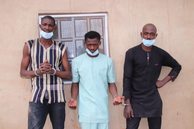 Abuja: Police nab 3 brothers for kidnap, killing of mother of 5 ...