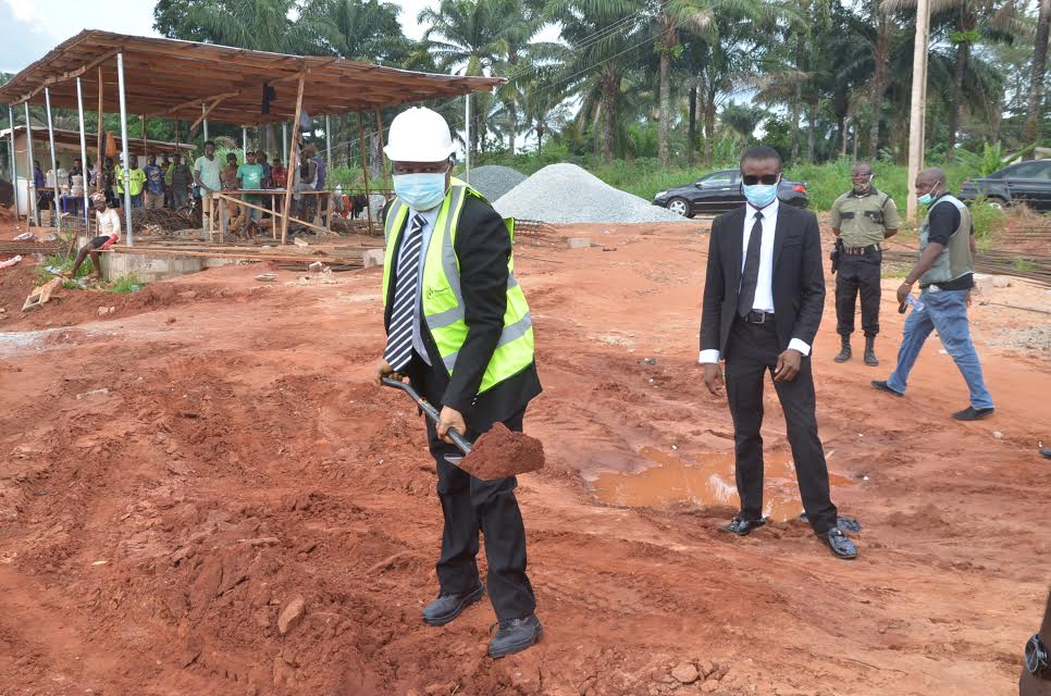 UNN VC flags-off construction of new hostel blocks