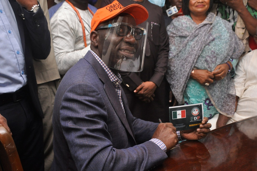 Court Strikes Out Suit Seeking To Bar Godwin Obaseki From Participating In Edo PDP Governorship Primary