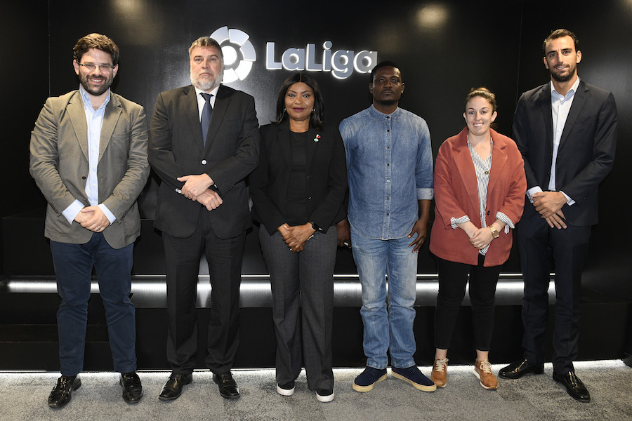 La Liga trains women football coaches in Nigeria in collaboration with NWFL