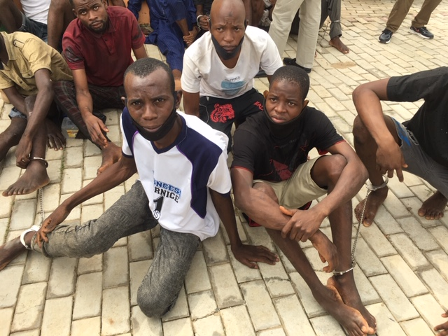 We use motor jerk to open burglar proof installed in homes, offices-Gambo Isah, leader of armed robbery gang