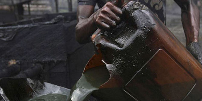 Security operatives arrest vessel, 10 crew members for crude oil theft