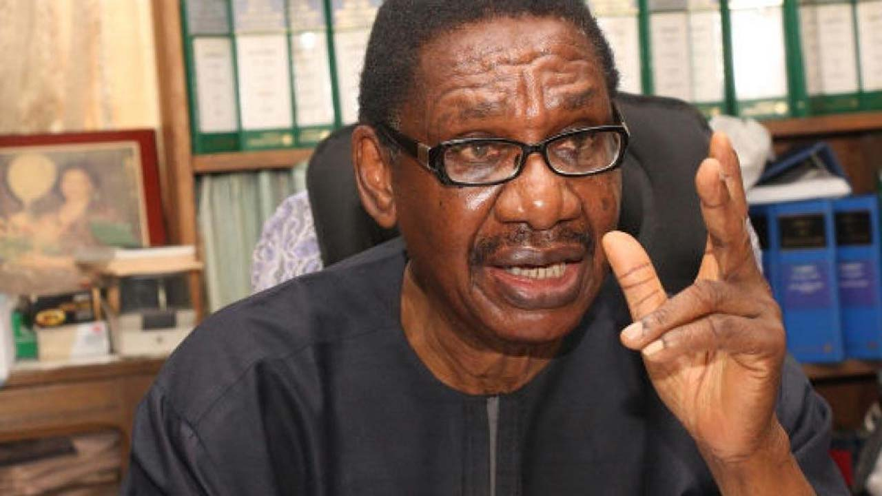 I didn't issue statement in support of Magu – Prof Sagay