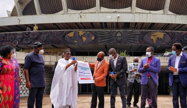 National Theatre: FG to earn $20bn yearly from creative industry, says Emefiele