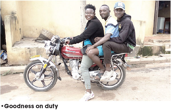 Ebonyi female undergraduate turns okada rider – The Sun Nigeria - Daily Sun