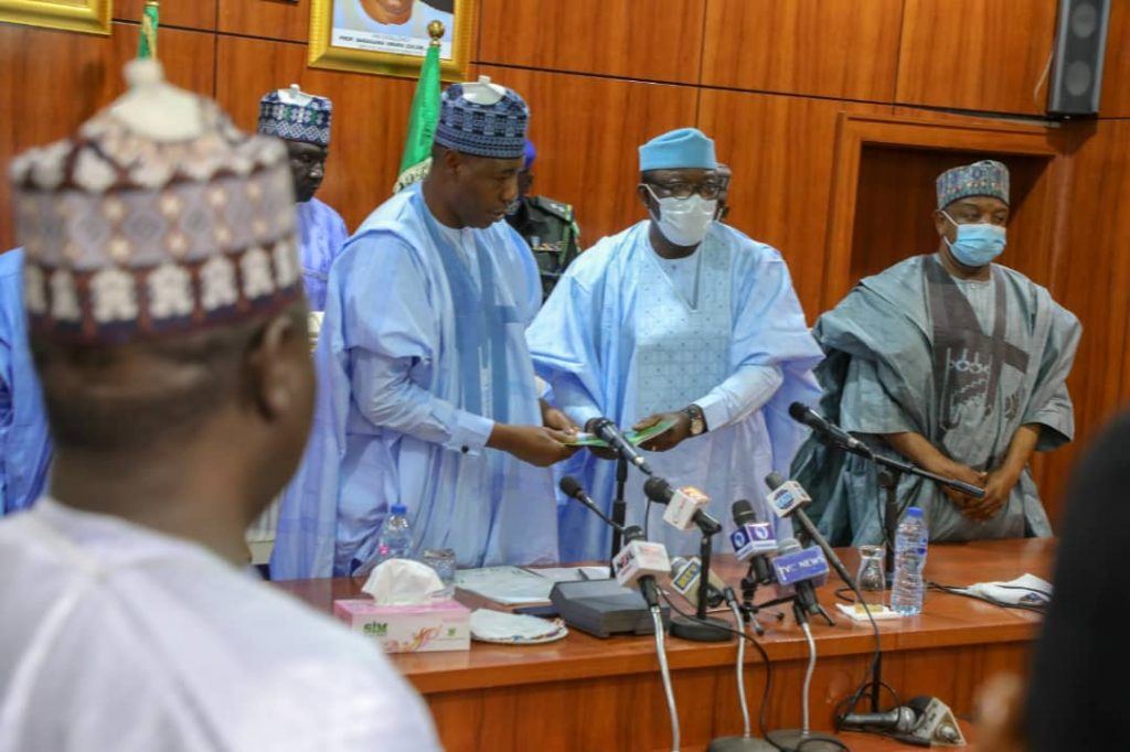 Governors' Forum donates N100 million to Borno