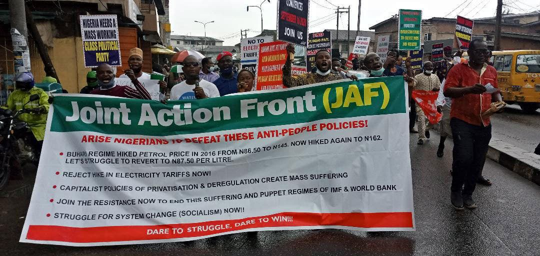 Again, police abort power, fuel price hikes protest in Lagos
