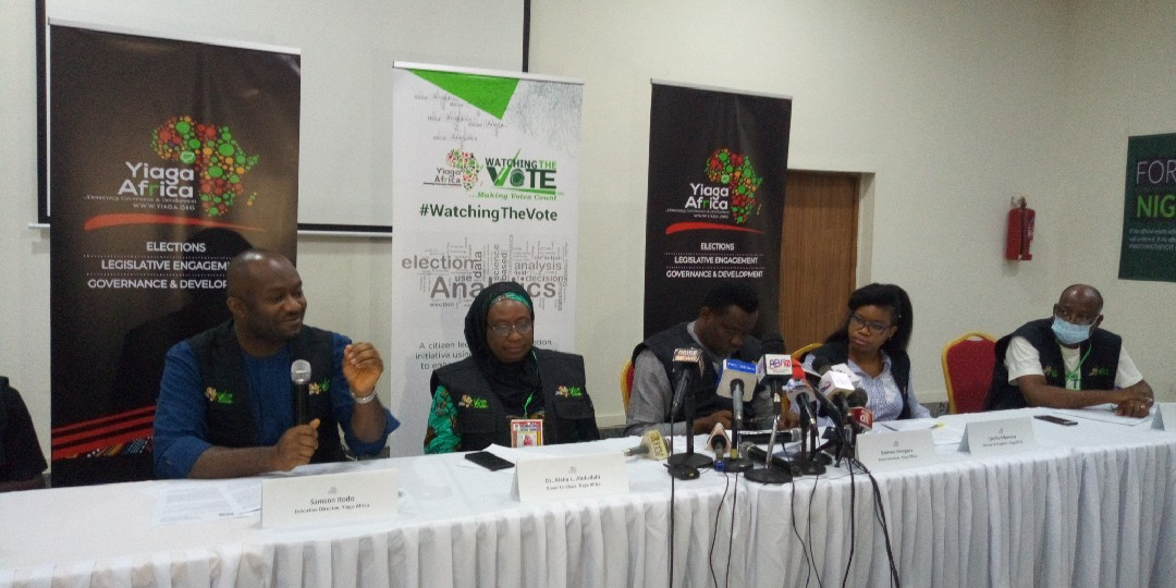 Yiaga Africa news conference ahead of the Ondo State Governorship election on Saturday, October 10, 2020