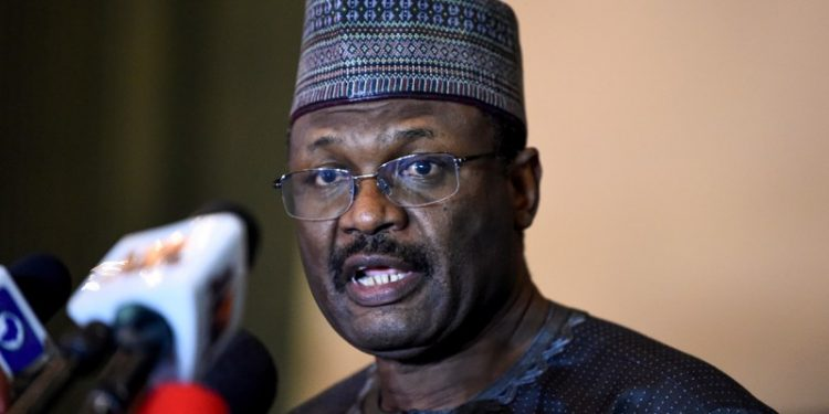 SAHARA REPORTERS EXCLUSIVE: Nigeria's Electoral Commission Chairman, Yakubu Holding Secret Meetings With Senate President Lawan, Ruling APC Party Leaders Ahead Of Elections