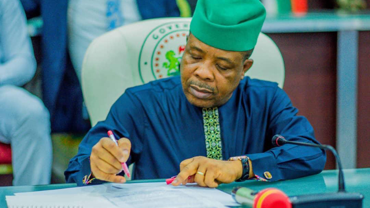 Defection 'plans' by Ihedioha, others fake news, says Imo PDP
