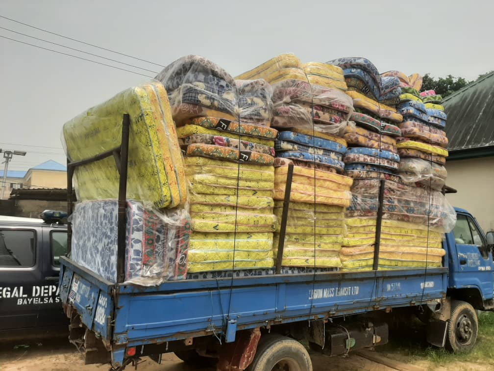 Police nab two with truckload of palliatives in Bayelsa – The Sun Nigeria