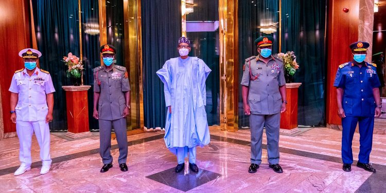 South-East not fairly treated, Northern elders tell Buhari regarding service chiefs' appointments