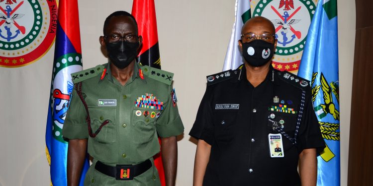 IGP visits COAS over insecurity, seek synergy to end menace