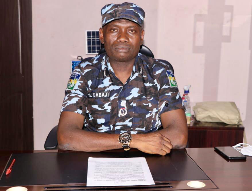 New FCT police chief Babaji Sunday assumes office