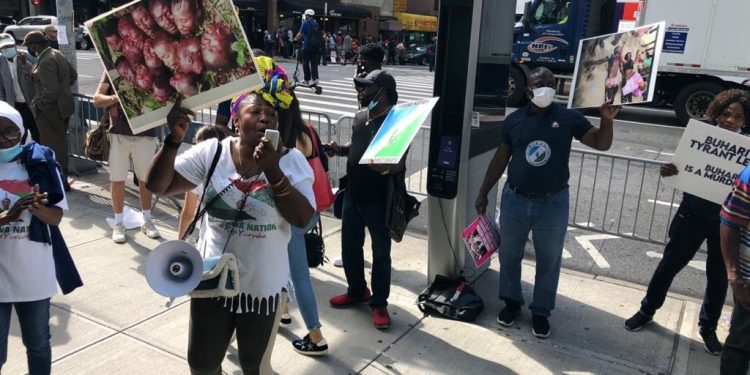 Yoruba nation protesters in New York demand separate state